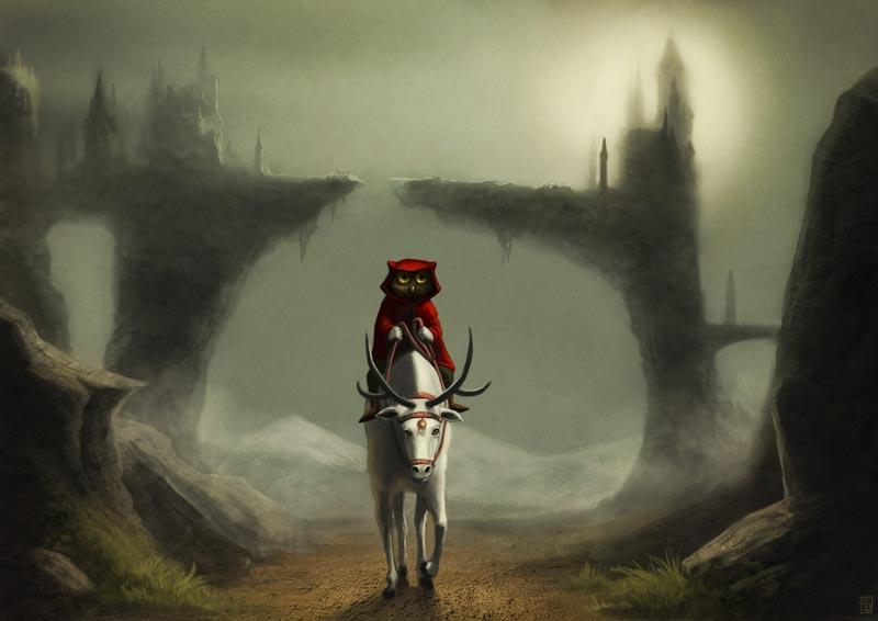 Le voyage du hibou by Sa-chan1603