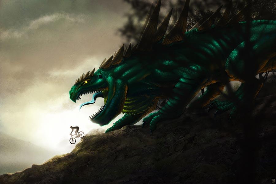 Downhill by Sa-chan1603