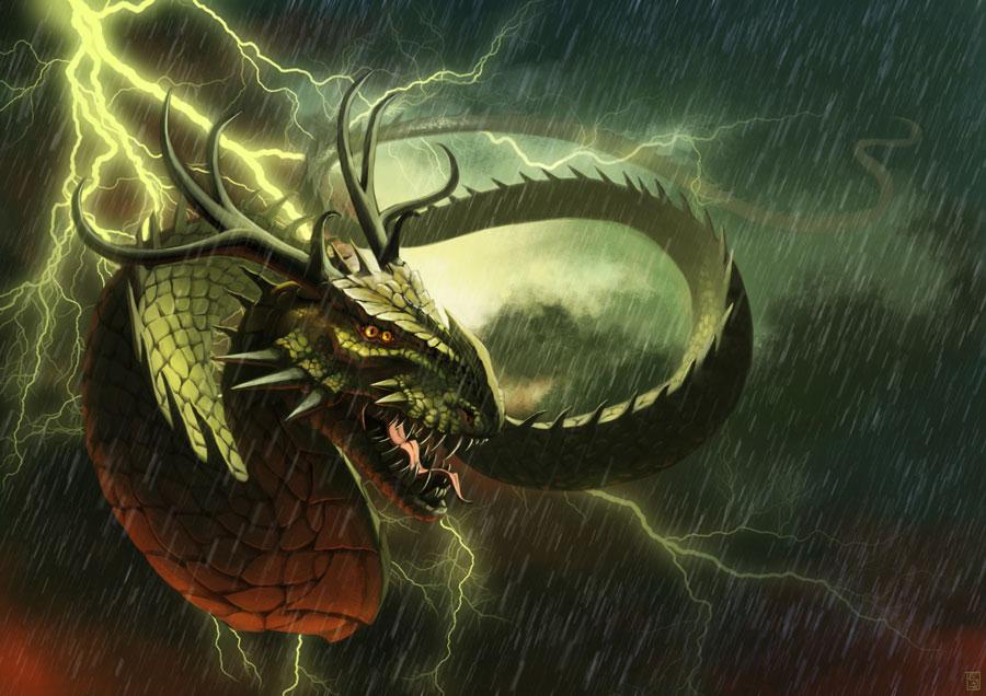 Storms Dragon by Sa-chan1603