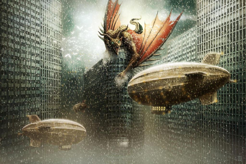 Dragon de verre by Sa-chan1603