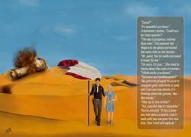 Cress and Thorne Desert Scene  Lunar Chronicles  1 by logan7ms