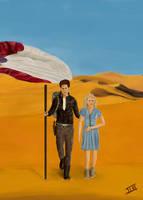 Cress and Thorne Desert Scene  Lunar Chronicles  3 by logan7ms