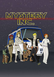 Mystery INC - Scooby Doo Gang as Star Wars