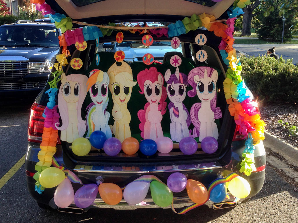 Halloween Decoration Ideas For Trunk Or Treat