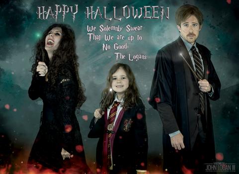 Harry Potter - Halloween 2018 Family Costumes