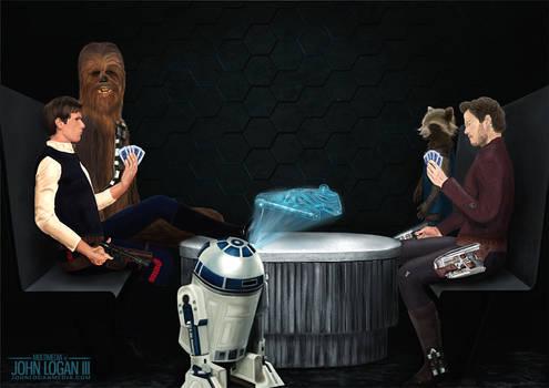 Gambling Men: Star Lord VS Han Solo