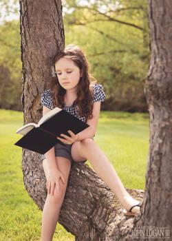 Springtime Book Reading 1