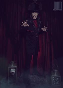 Adult Vampire Halloween Costume Photoshoot (2020)