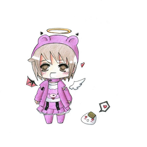 Marryed-Onigiri's OC Chibi by Aiseiri