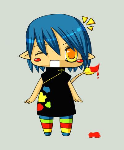 Rainbow Mascot by Aiseiri