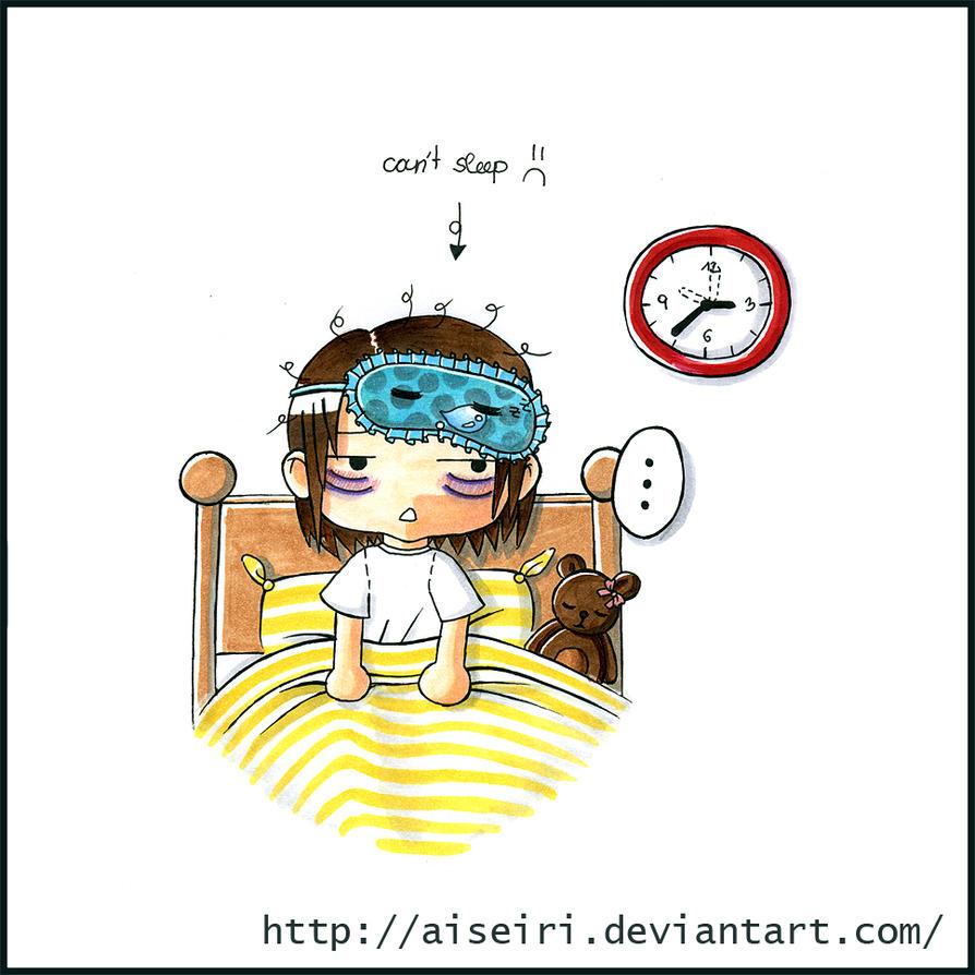 Can't sleep... by Aiseiri