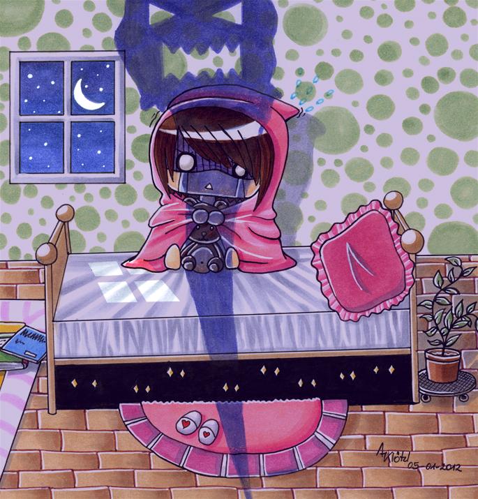 Afraid of the night by Aiseiri