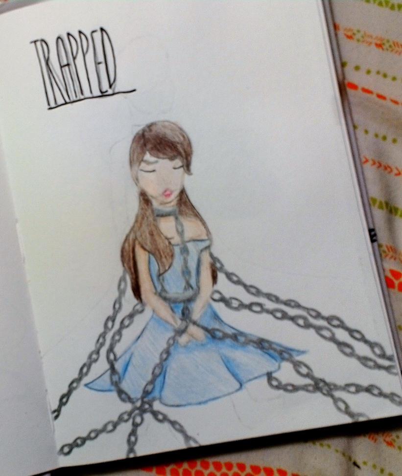 Trapped Sketch by Espy26