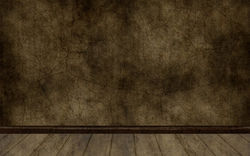Empty Old Room With Grunge Wall And Wooden Floor By Esvaq
