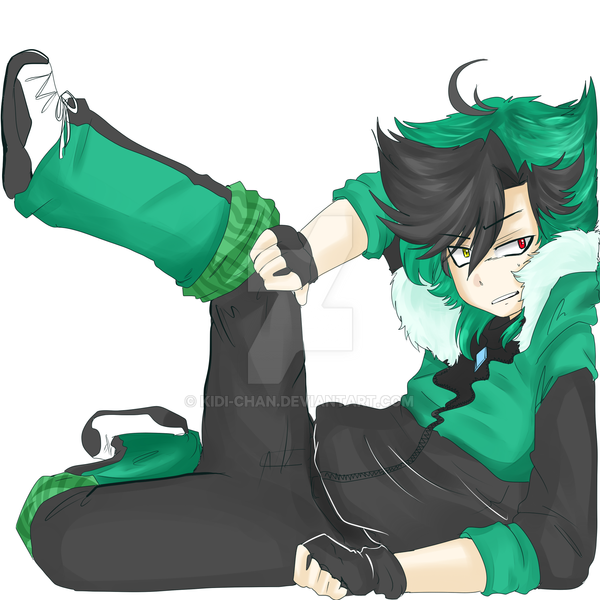 Stuck by KIDI-chan