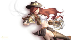 Cowgirl Miss Fortune by CLeRu087