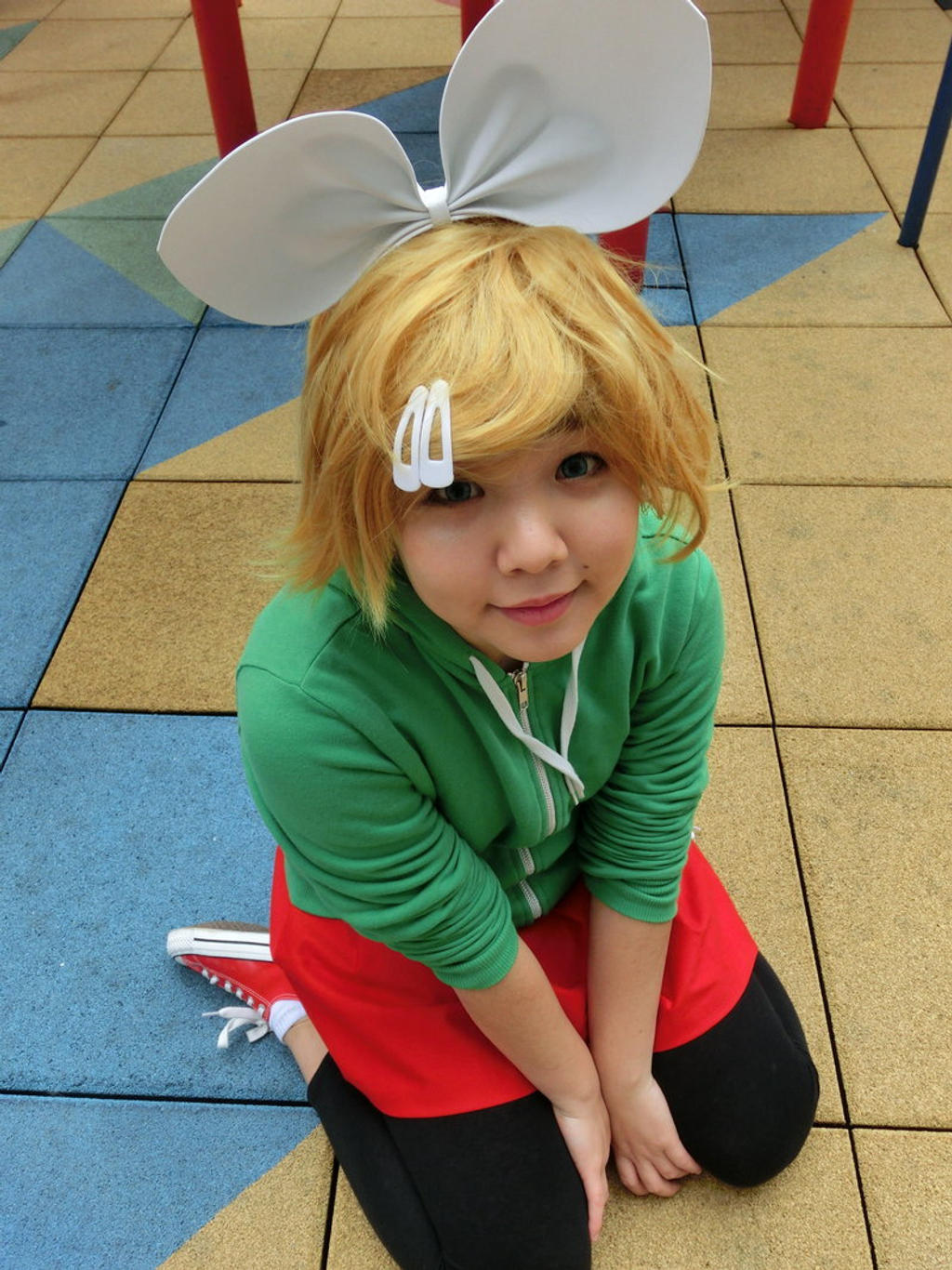 Kagamine Rin - I Can't Grasp You At All by writingpikachu
