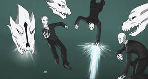 Gaster Poses