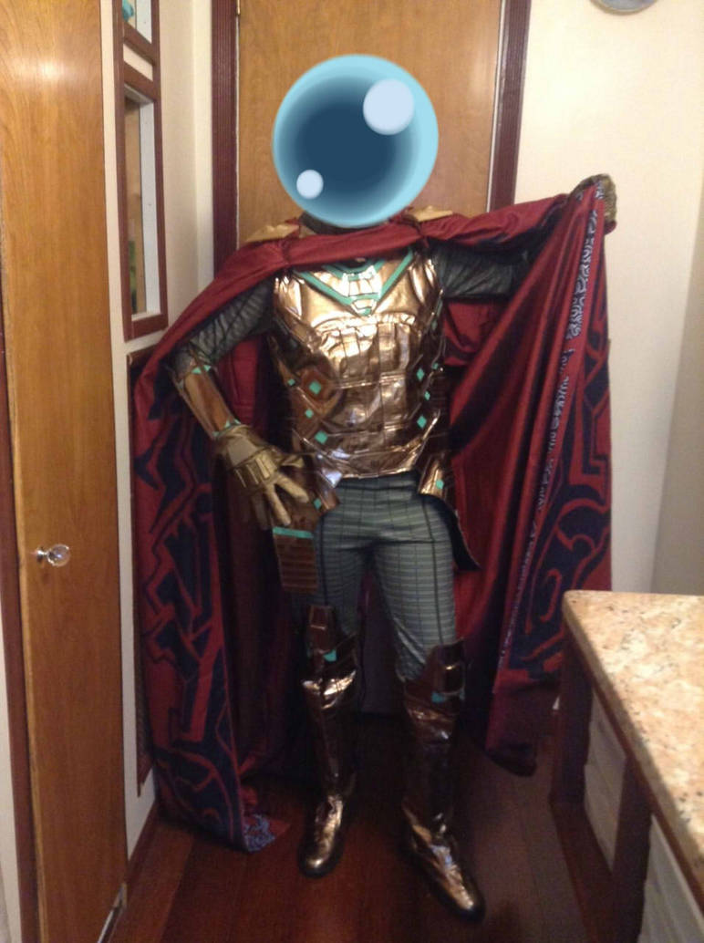 Complete Mysterio Cosplay by MasterSerris on DeviantArt