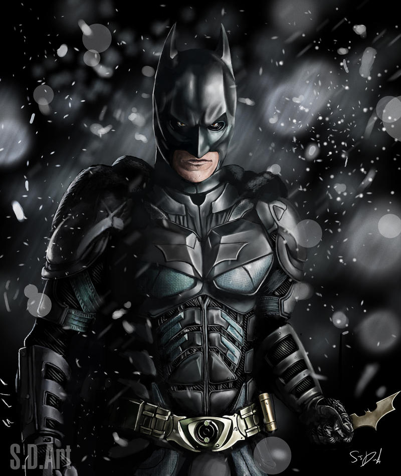 Batman by SamDenmarkArt