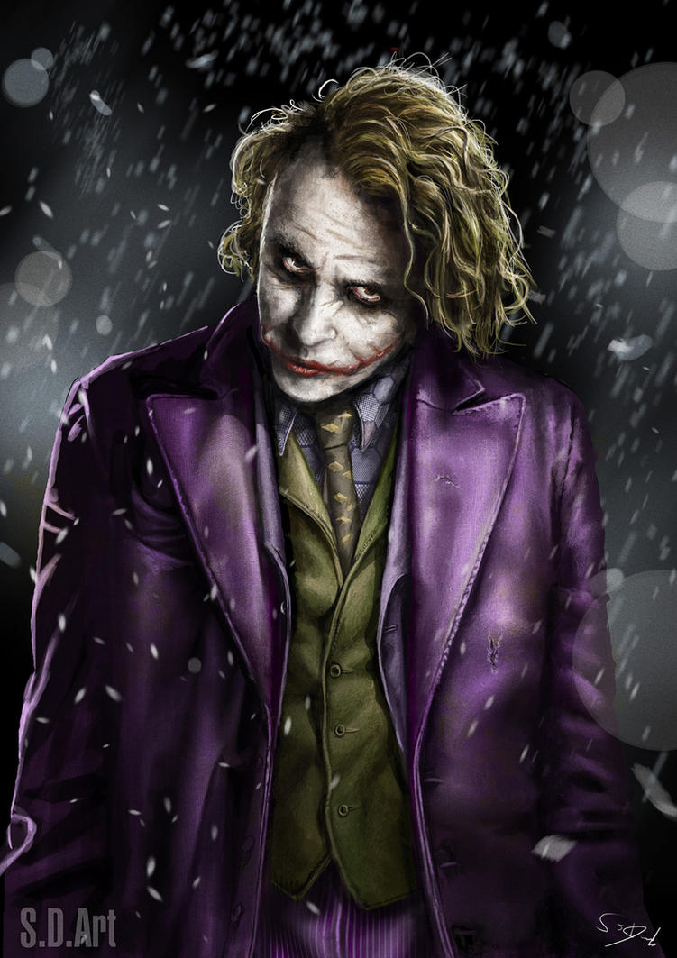 Joker by SamDenmarkArt