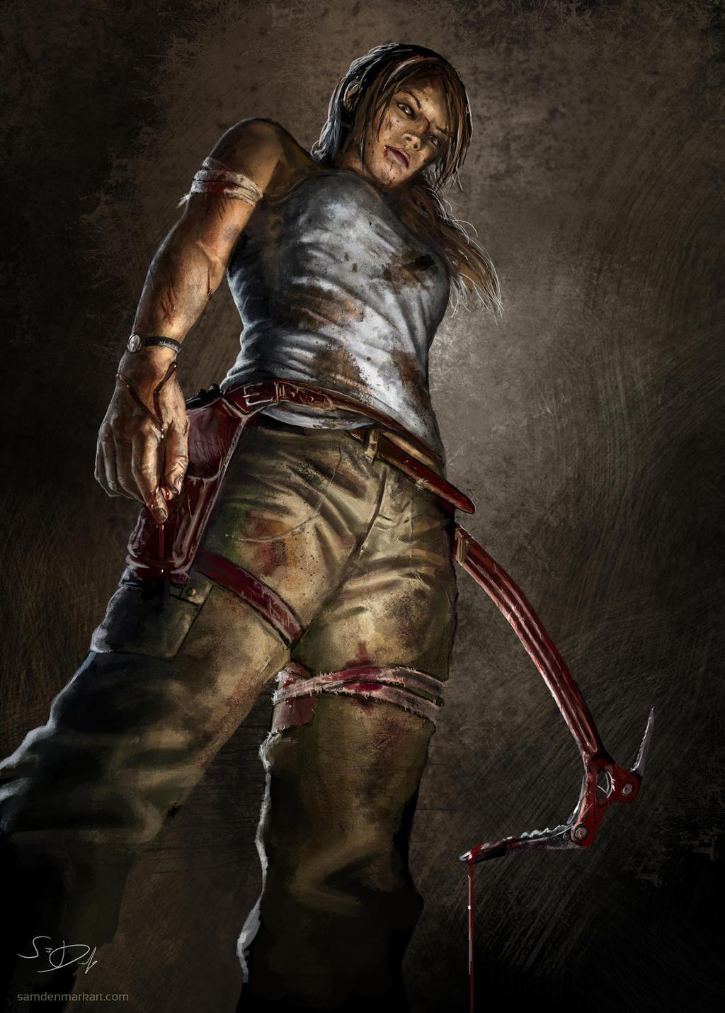 Tomb Raider Reborn by SamDenmarkArt