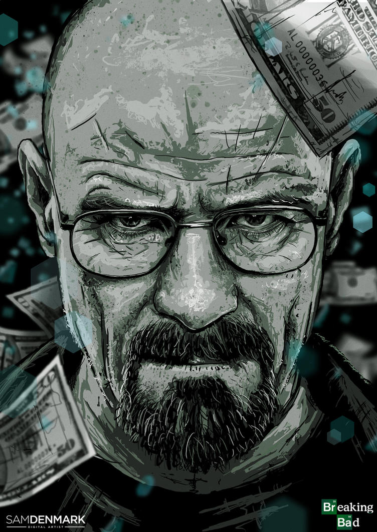 Breaking Bad by SamDenmarkArt