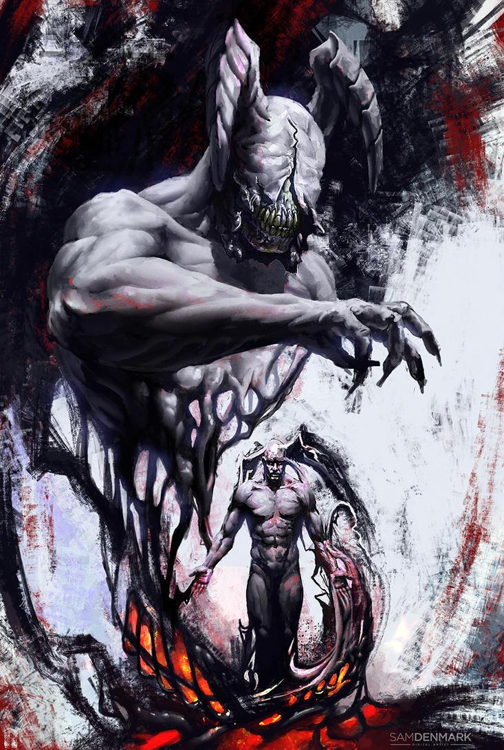 Monster Inside by SamDenmarkArt