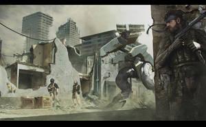 Metal Gear Fan Art by SamDenmarkArt