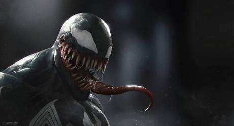 Venom by SamDenmarkArt