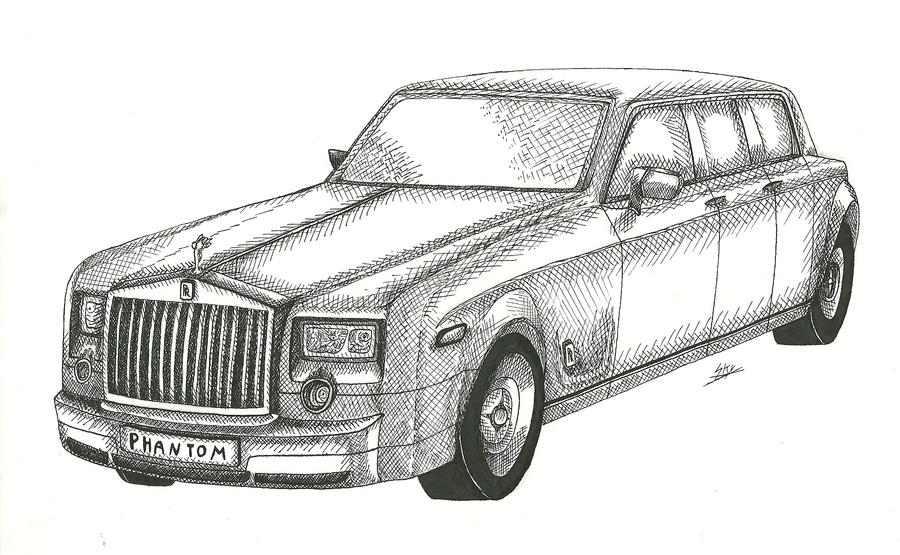 Rolls Royce Phantom by Skier-Skyracer on DeviantArt