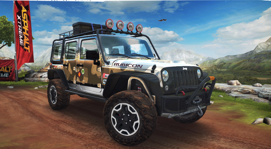 Asphalt Xtreme Jeep Wrangler Rubicon by Carfan3 on DeviantArt