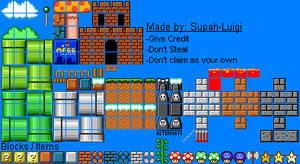 Super Mfgg Bros. Tiles