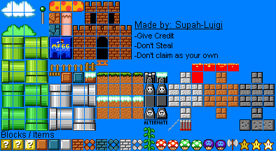 Super Mfgg Bros  Tiles by Deuterag0nisT on DeviantArt