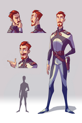 Heroes of the Universe _Char 2 by LifelessMech