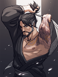 Overwatch_Hanzo by LifelessMech