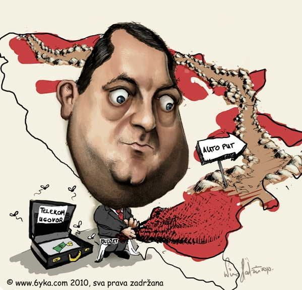 Image result for civic dodik karikature