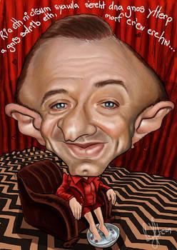 caricature - Michael J. Anderson (Twin Peaks)
