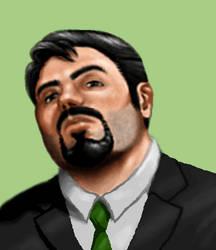 Arcanum Custom Portrait - Human Male