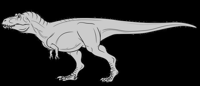 Tyrannosaurus Rex Base - F2U