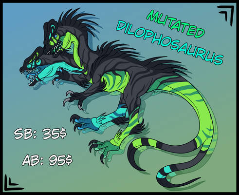 [ Auction ] Mutated Dilo - CLOSED