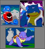 007 to 009: Turtles by HedgehogBeeblebrox