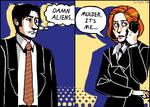 Psuedo-comic duo