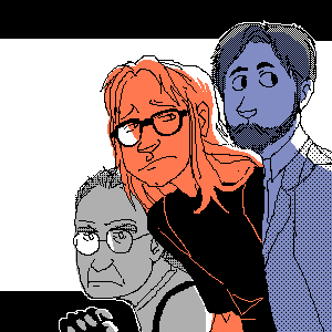 The Lone Gunmen by HedgehogBeeblebrox