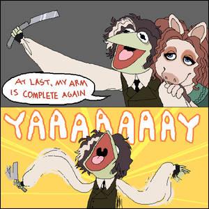 Demon Muppet of Sesame Street
