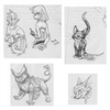 Massive Doodle Collection by HedgehogBeeblebrox