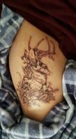 Jackalope Tattoo