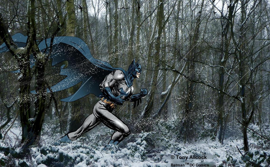 Batman in Snow by 888toto