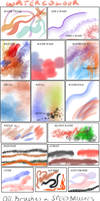 Manga Studio v5 Brushes and Actions - collection 2