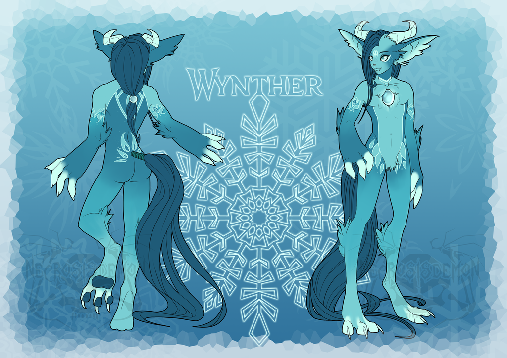 Wynther ref by NecrosisDemon